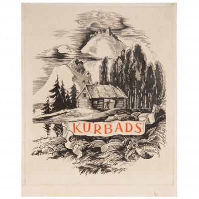 "Drawing ""Kurbads"""
