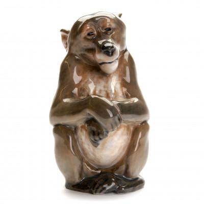 "Porcelain figure ""Monkey"""