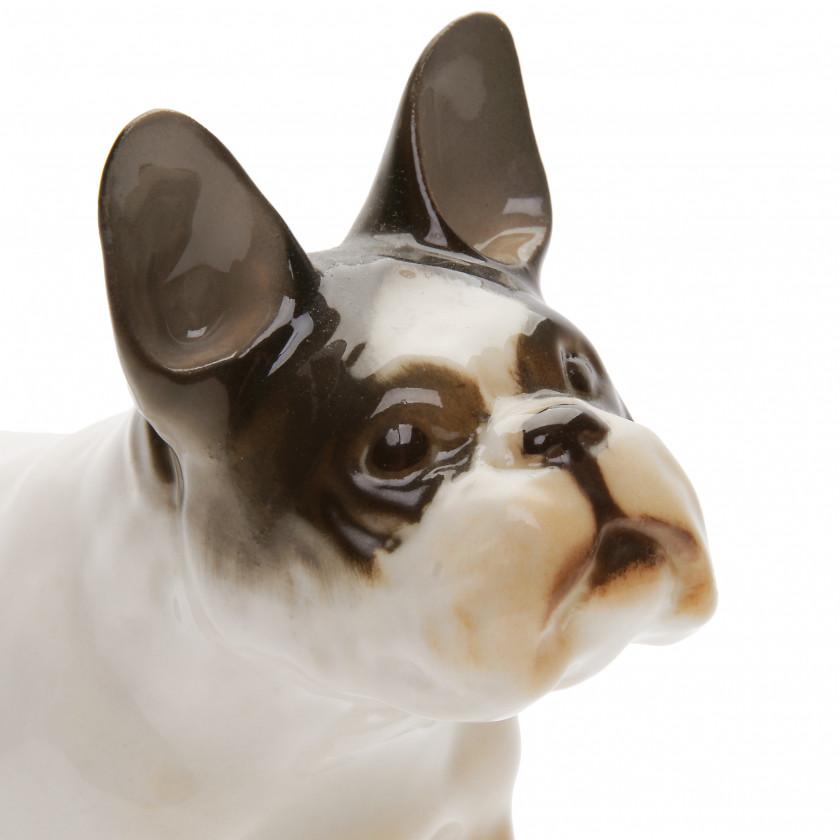 "Porcelain figure ""French bulldog"""