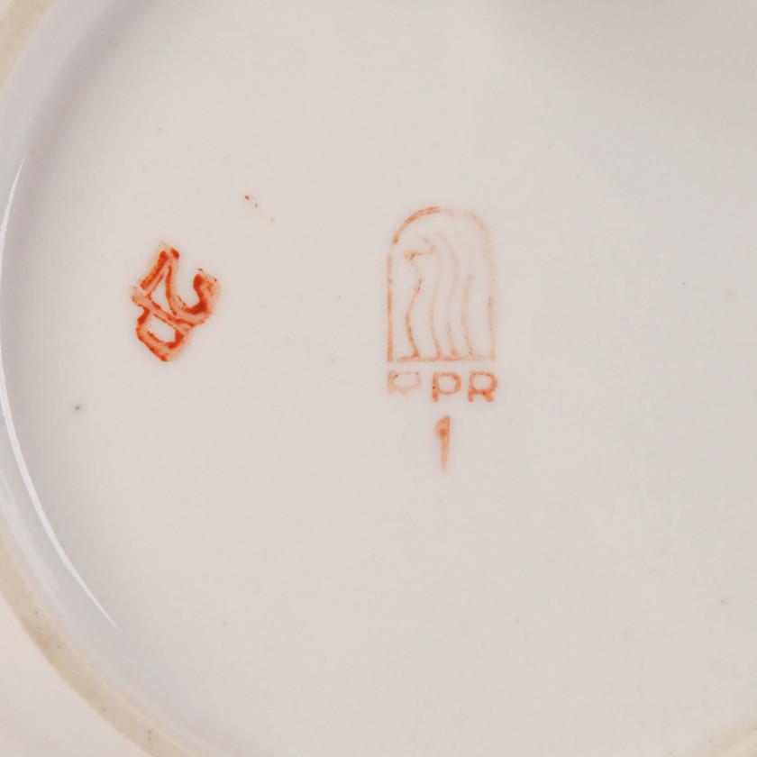 Porcelāna jubilejas šķīvis
