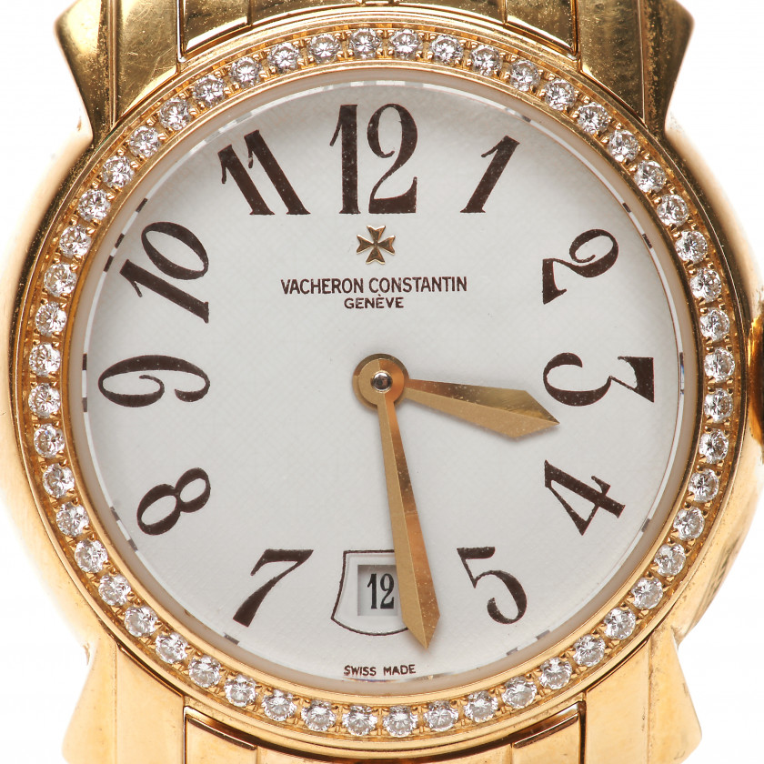 "Gold ladies watch ""Vacheron Constantin"""