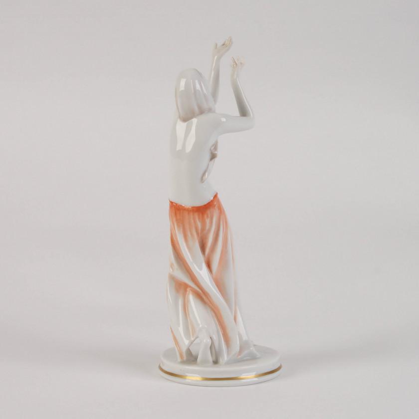 """Porcelain figure """"Prayer Dancer"""""""