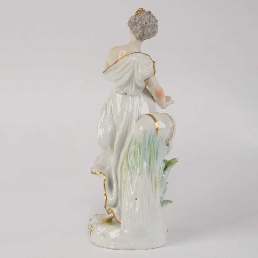 "Porcelain figure ""Allegory - Water"""