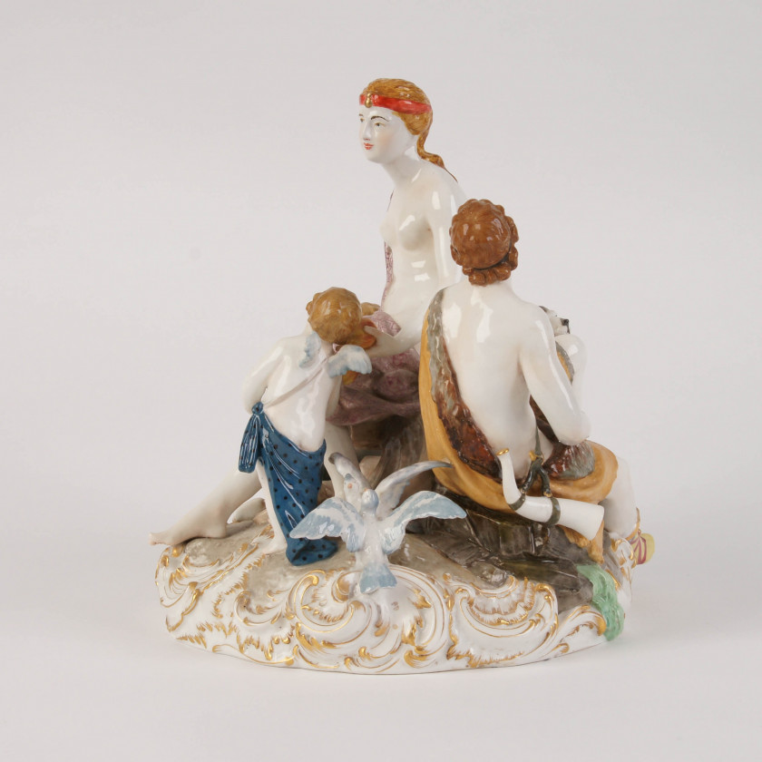 "Porcelain figure ""A pair of lovers"""