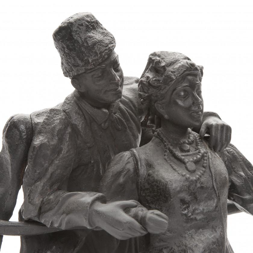 "Sculpture ""Malorosses dating"""