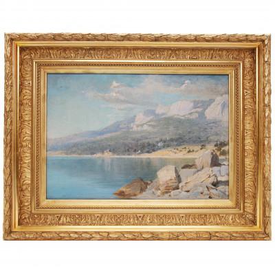 """Painting """"Crimean landscape"""""""
