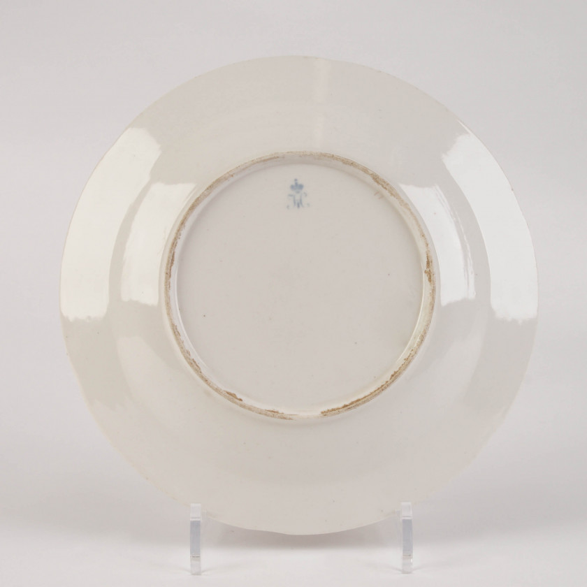 Porcelain plate from the Korbievsky service