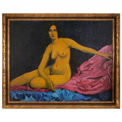 "Painting ""Lemon woman"""