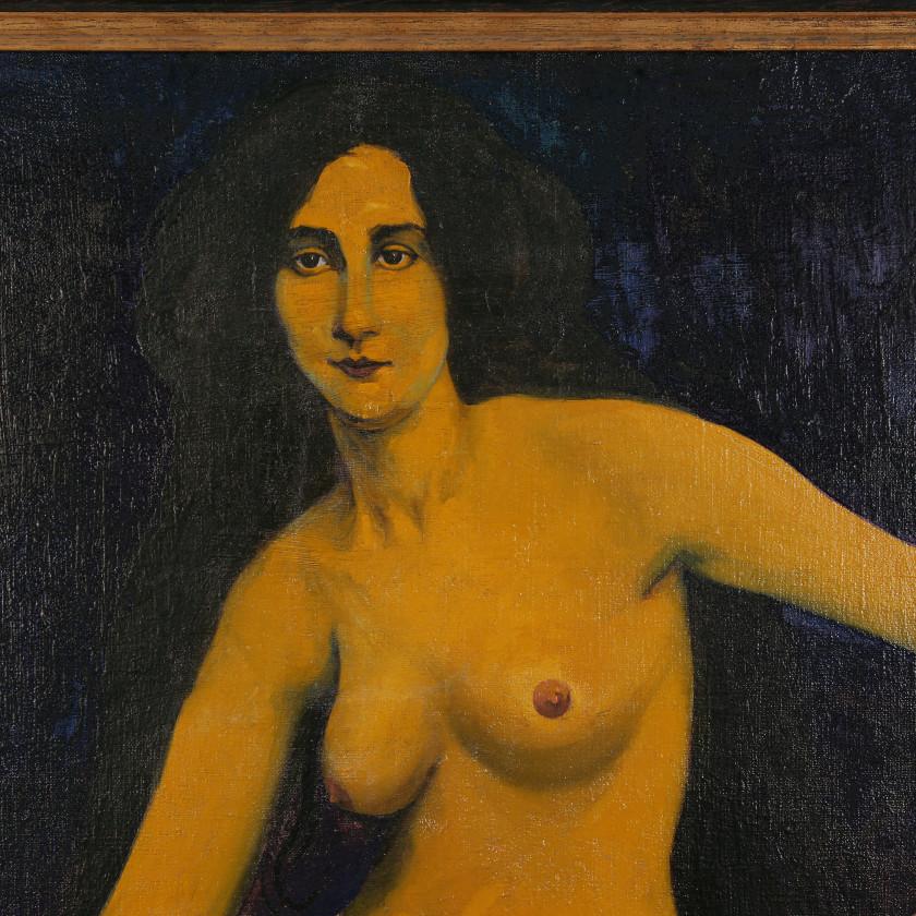"""Картина """"Лимонная женщина"""""""