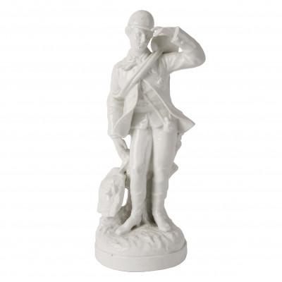 """Porcelain figure """"Hunter"""""""