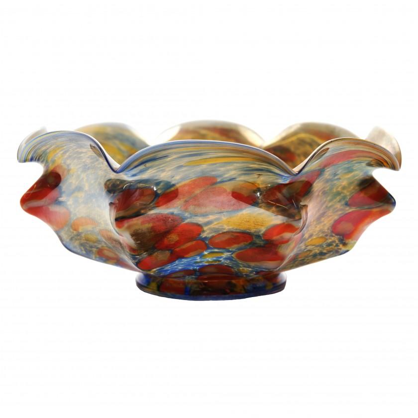 """Glass vase """"Millefiori"""""""