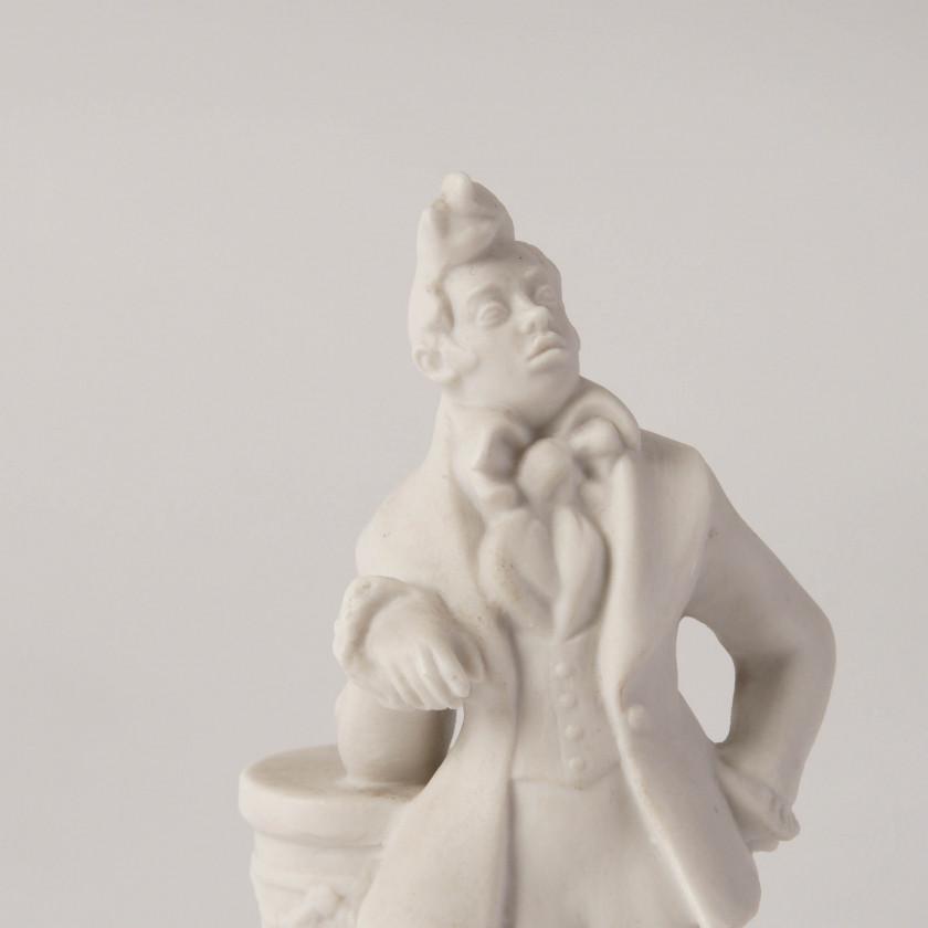 """Porcelāna figūra """"Hļestakovs"""""""