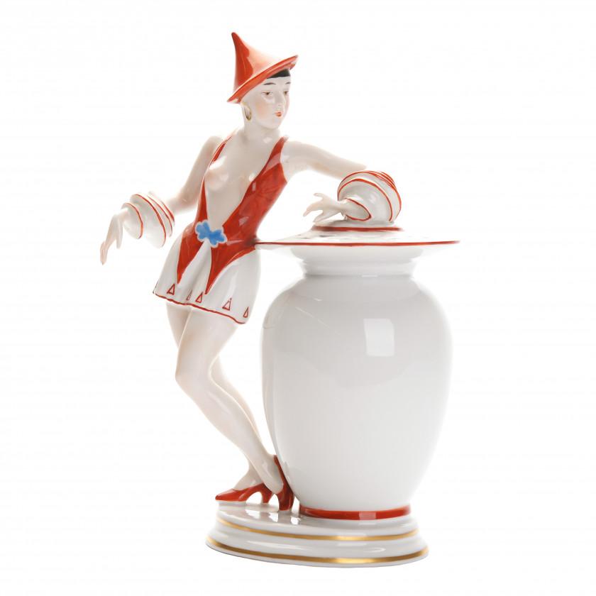 "Porcelain perfume lamp ""Aladin"""