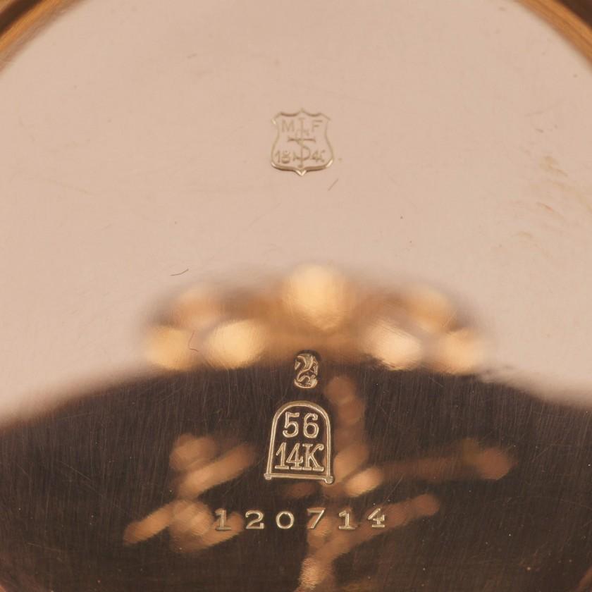 "Gold pocket watch ""Mermod Freres"""