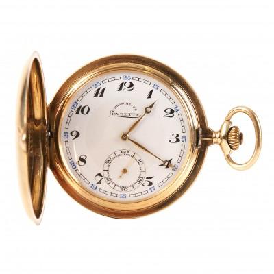 "Zelta kabatas pulkstenis ""Levrette"""