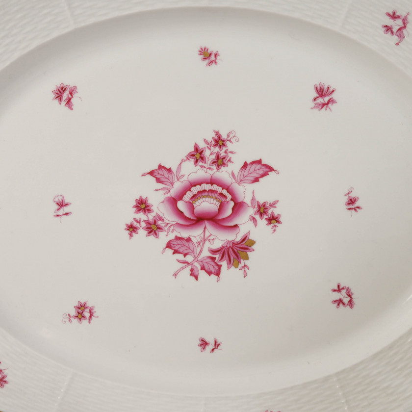 Large porcelain set for 12 persons (58 items)