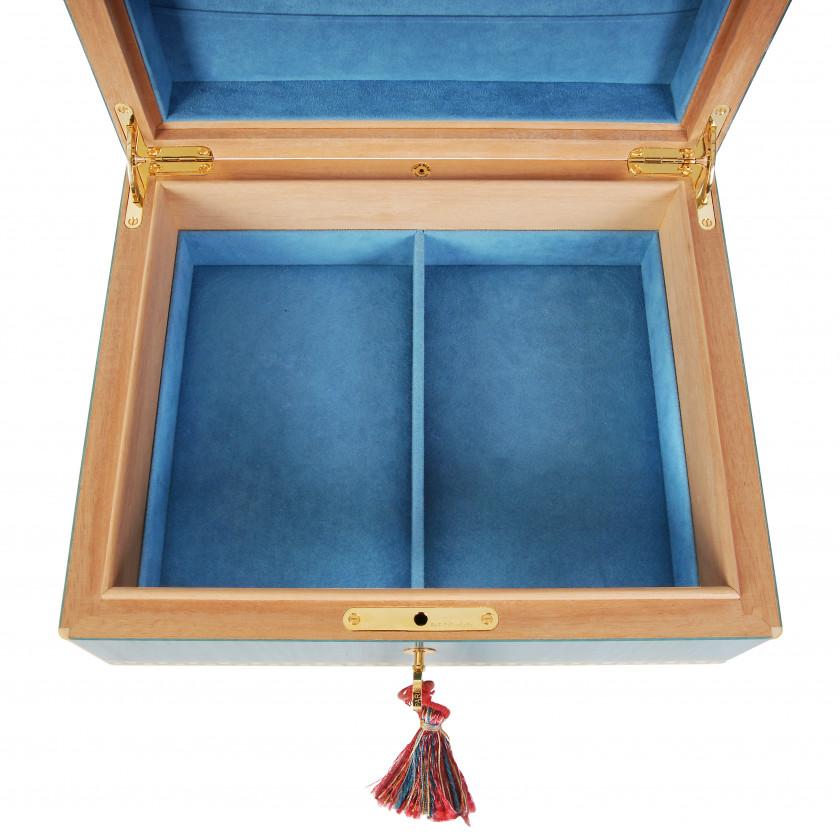 "Jewelry box Elie Bleu ""Tabletier"""