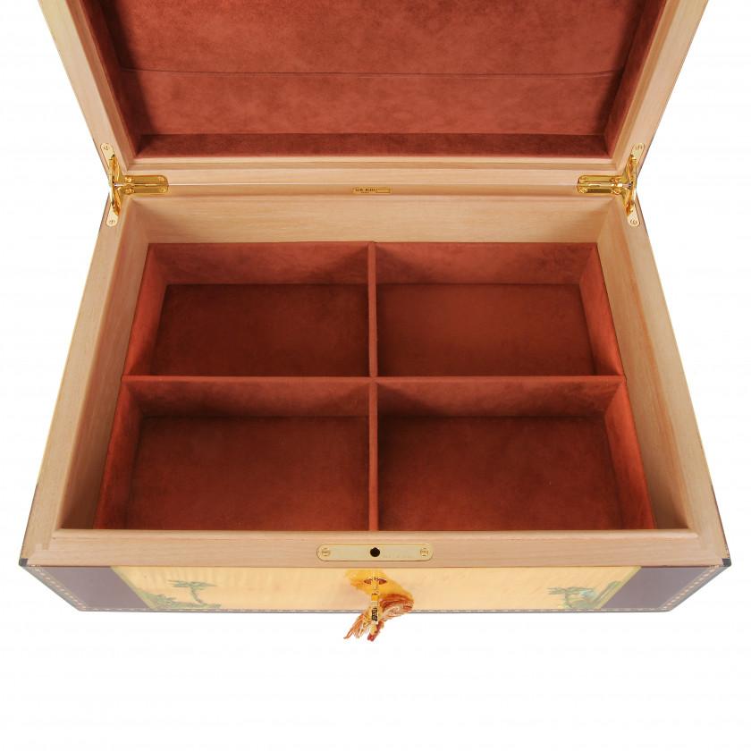 "Jewelry box Elie Bleu ""Flor de Alba"""