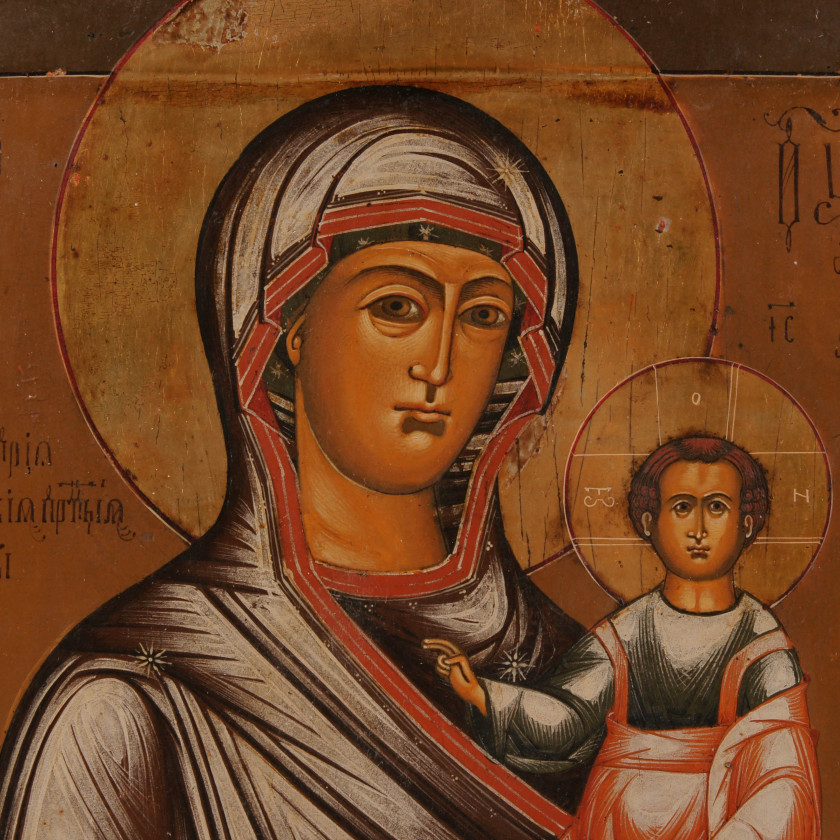 """Icon """"The Virgin of Smolensk"""""""