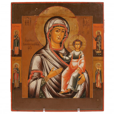 "Icon ""Our Lady of Smolensk"""