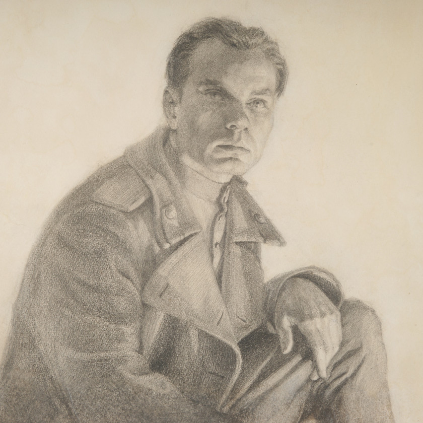 """Drawing """"Portrait of a soldier"""""""