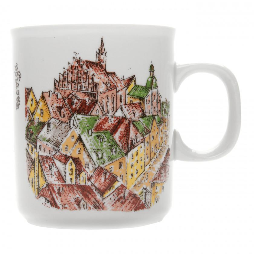 "Porcelain tea cup ""Vecrīga"""