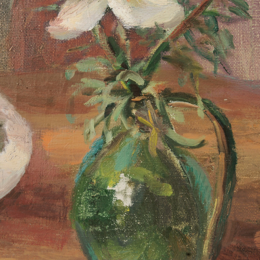 "Painting ""Still life with lilies"""