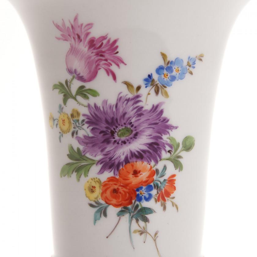 Porcelain vase for flowers