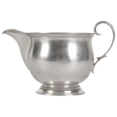 Silver milk pot