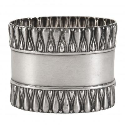 Silver napkin ring
