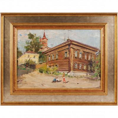 """Painting """"City landscape"""""""