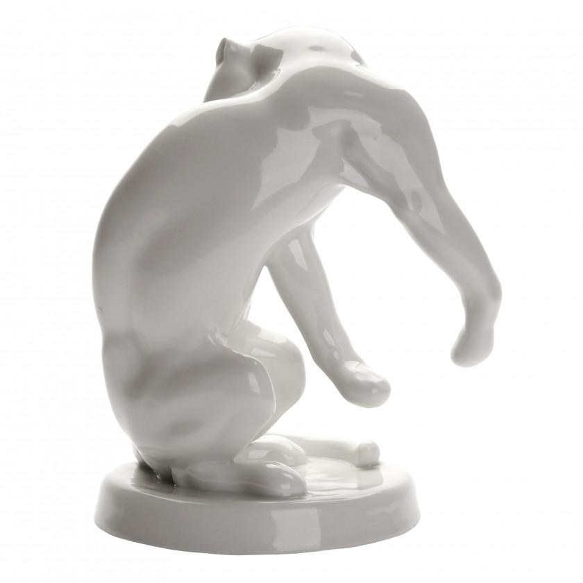 "Porcelain figure ""Panther"""