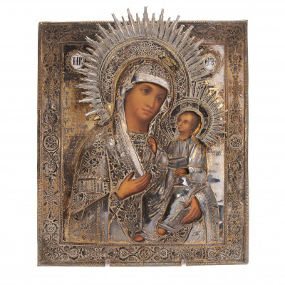 "Icon ""The Virgin of Iver"""