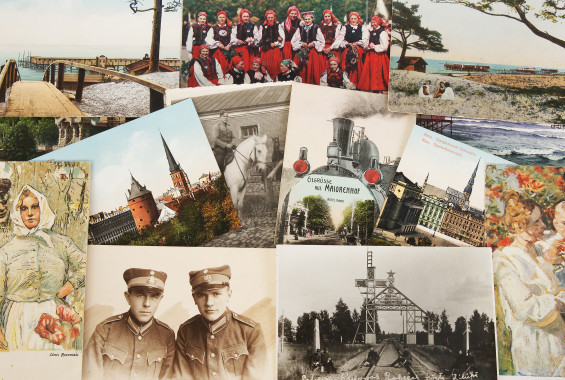 Postcards and photos
