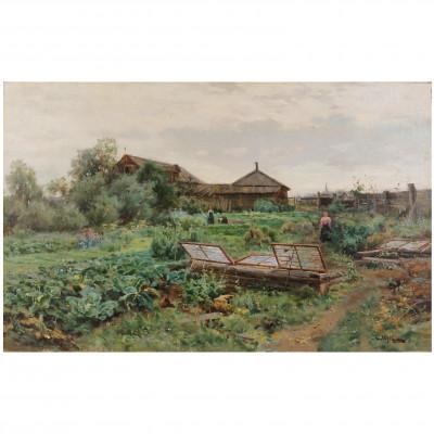 "Painting ""Garden"""