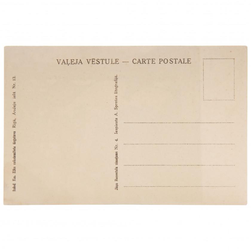 "Postcard ""J. Rozentāls - Legend"""