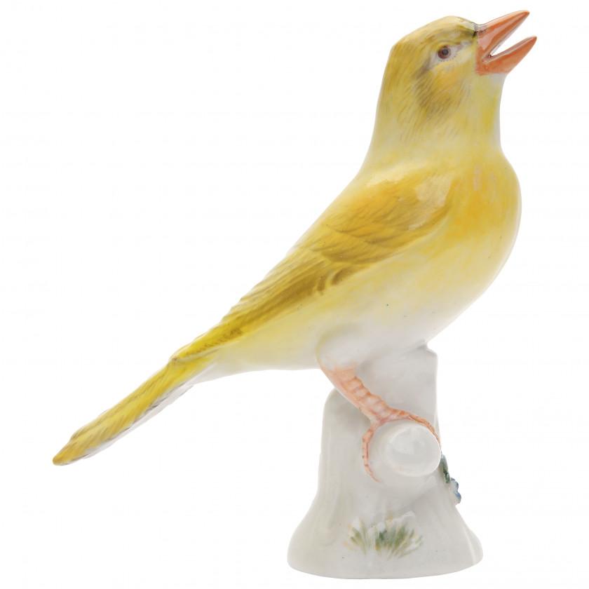 """Porcelain figure """"Canary"""""""