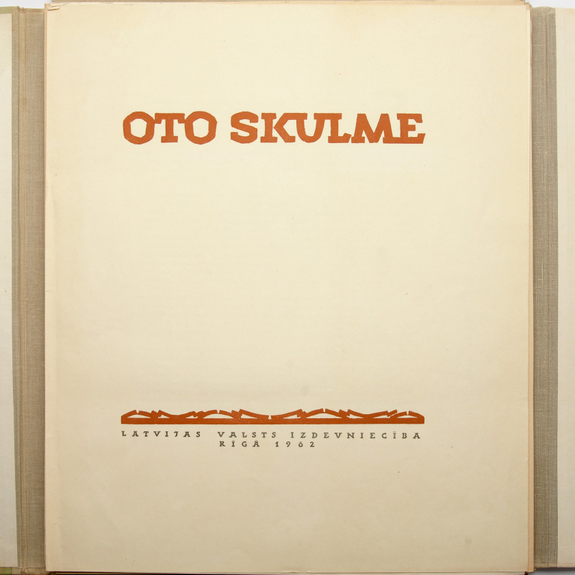 "Album ""25 reproductions of Latvian artist Otto Skulme"""