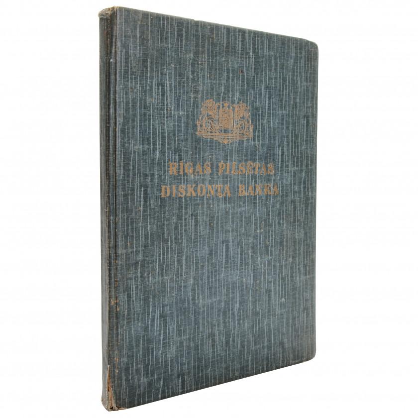 """Book """"Rīgas pilsētas Diskonta banka 145 gadi"""""""