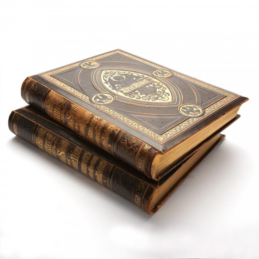 """Grāmata """"Die Heilige Schrift des Alten und Neuen Testaments, nach der deutlchen Ueberlekung Dr. Martin Luthers"""""""