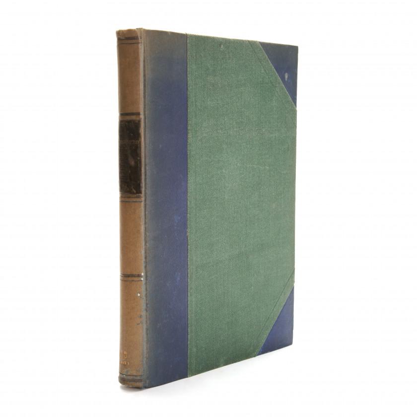"""Book """"Курс лесоводства для лесных школ и для лесовладельцев и управляющих имениями, с 25-ю рисунками"""""""